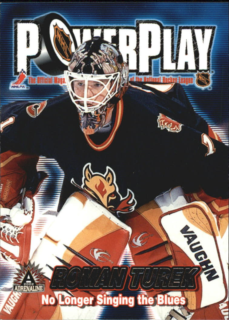 2001-02 Pacific Adrenaline Power Play #6 Roman Turek
