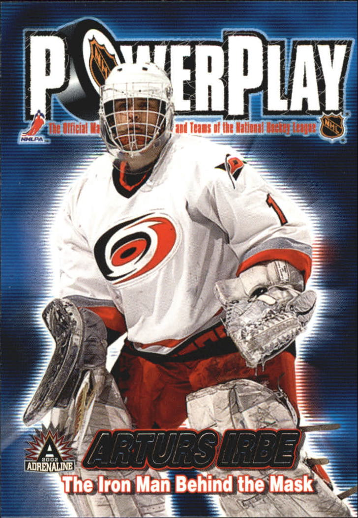 2001-02 Pacific Adrenaline Power Play #7 Arturs Irbe