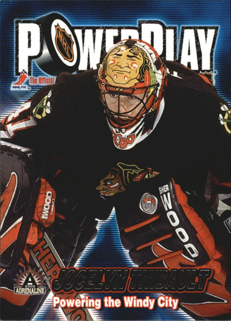 2001-02 Pacific Adrenaline Power Play #8 Jocelyn Thibault