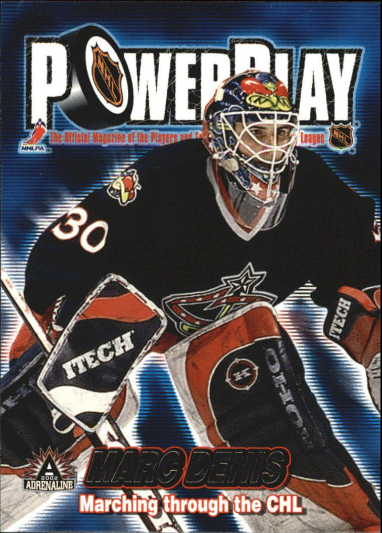 2001-02 Pacific Adrenaline Power Play #10 Marc Denis