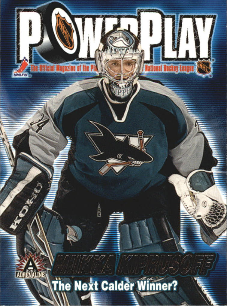 2001-02 Pacific Adrenaline Power Play #31 Miikka Kiprusoff