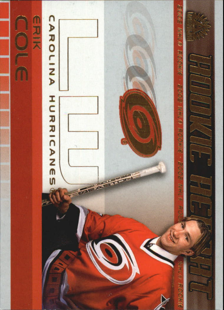 2001-02 Pacific Adrenaline Rookie Report #4 Erik Cole