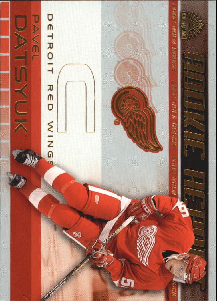 2001-02 Pacific Adrenaline Rookie Report #8 Pavel Datsyuk