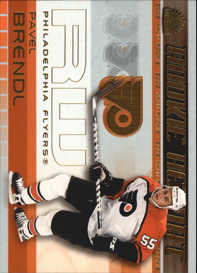 2001-02 Pacific Adrenaline Rookie Report #13 Pavel Brendl