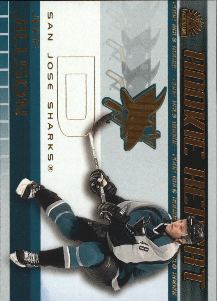 2001-02 Pacific Adrenaline Rookie Report #17 Jeff Jillson