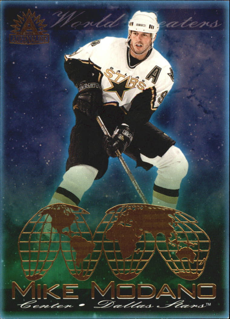 2001-02 Pacific Adrenaline World Beaters #4 Mike Modano