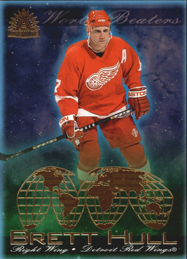 2001-02 Pacific Adrenaline World Beaters #5 Brett Hull