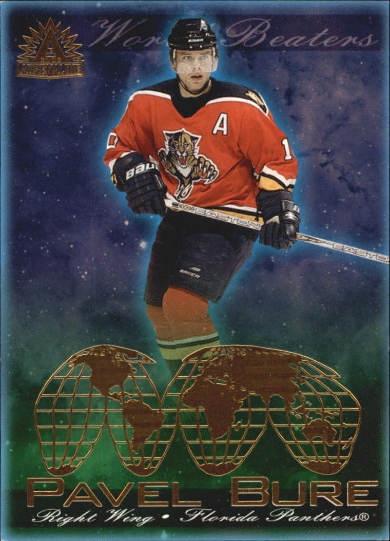 2001-02 Pacific Adrenaline World Beaters #7 Pavel Bure