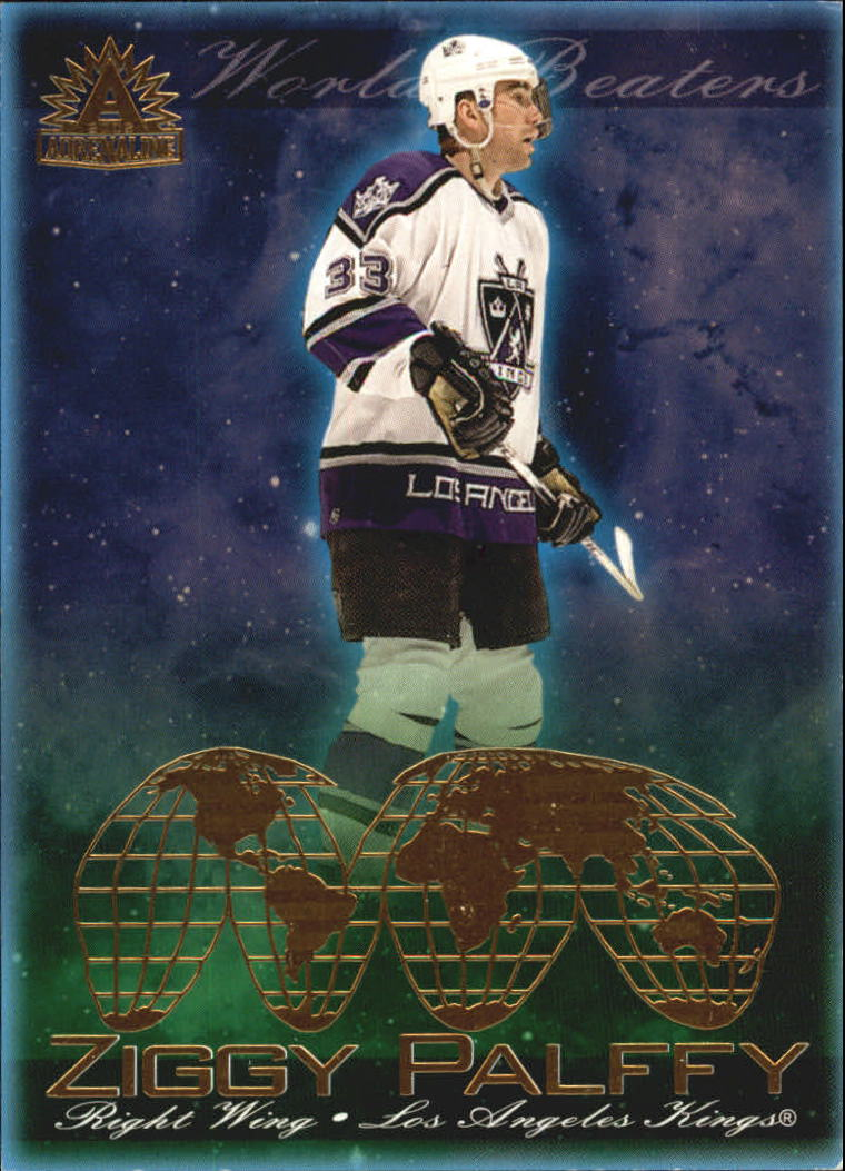 2001-02 Pacific Adrenaline World Beaters #8 Zigmund Palffy