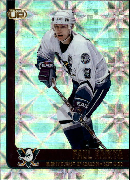 2001-02 Pacific Heads Up #1 Paul Kariya
