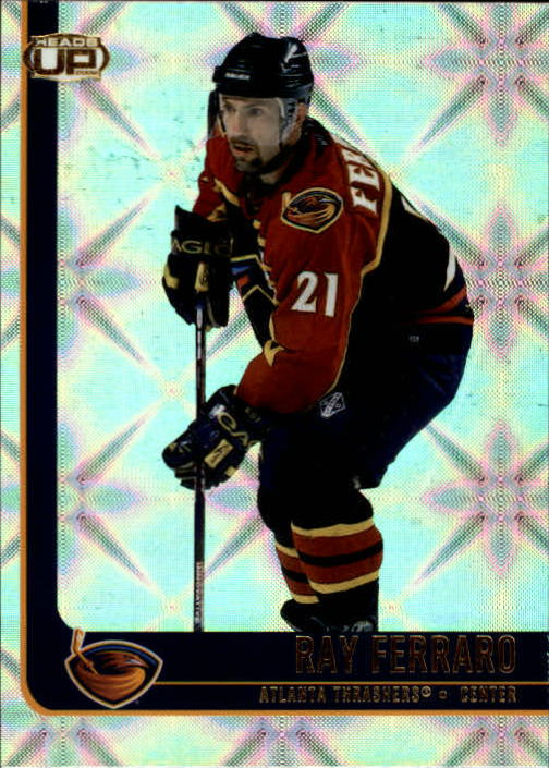 2001-02 Pacific Heads Up #3 Ray Ferraro