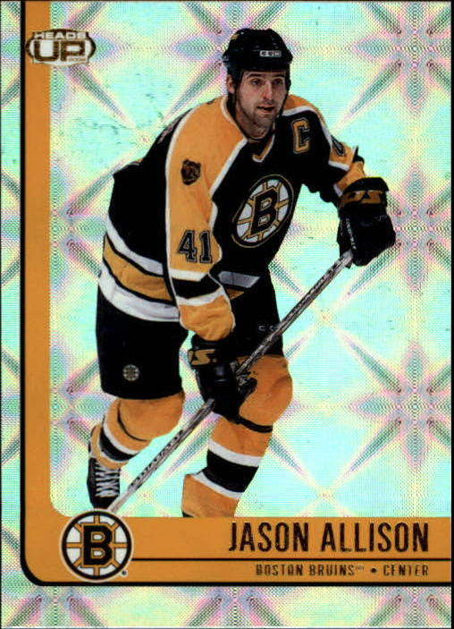 2001-02 Pacific Heads Up #6 Jason Allison