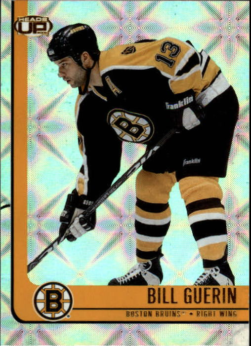 2001-02 Pacific Heads Up #8 Bill Guerin