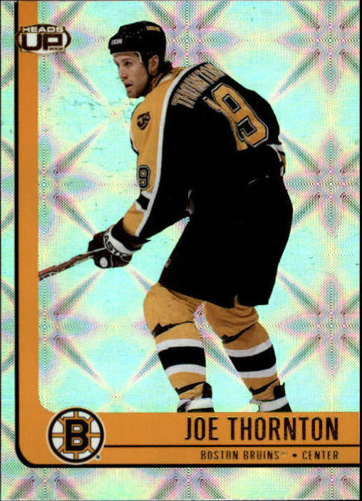 2001-02 Pacific Heads Up #10 Joe Thornton