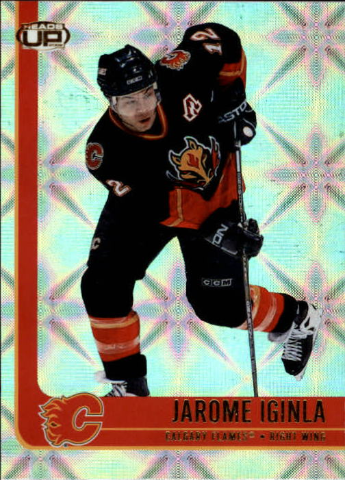 2001-02 Pacific Heads Up #12 Jarome Iginla