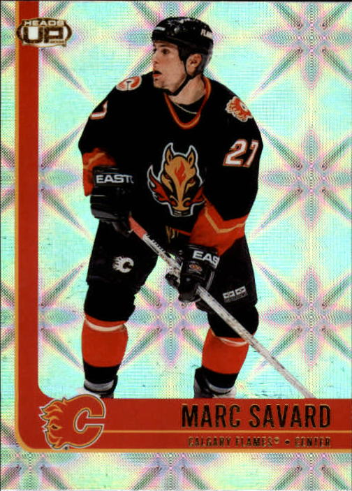 2001-02 Pacific Heads Up #13 Marc Savard