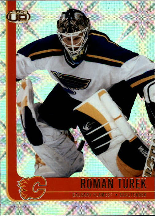 2001-02 Pacific Heads Up #14 Roman Turek