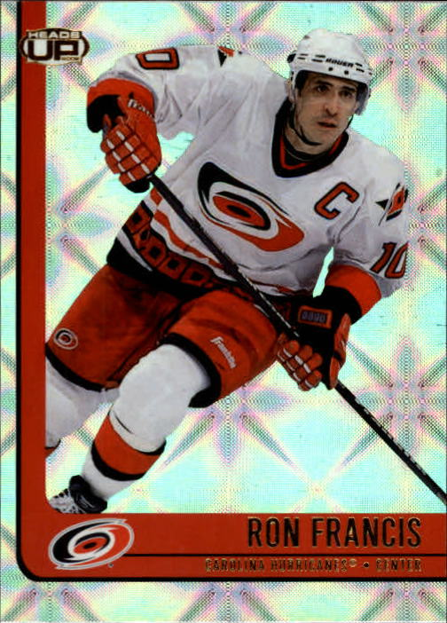 2001-02 Pacific Heads Up #15 Ron Francis
