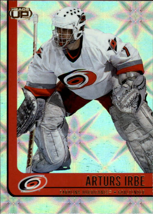 2001-02 Pacific Heads Up #16 Arturs Irbe
