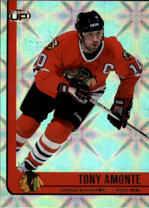 2001-02 Pacific Heads Up #18 Tony Amonte