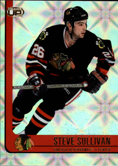 2001-02 Pacific Heads Up #19 Steve Sullivan