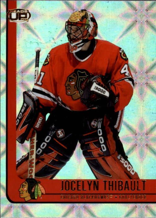 2001-02 Pacific Heads Up #20 Jocelyn Thibault