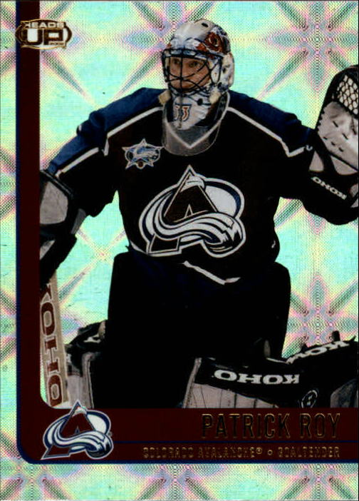 2001-02 Pacific Heads Up #25 Patrick Roy