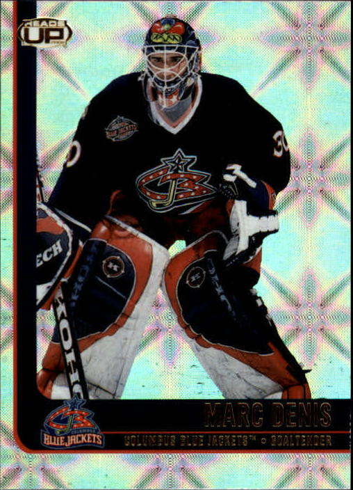 2001-02 Pacific Heads Up #27 Marc Denis