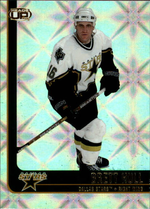 2001-02 Pacific Heads Up #30 Brett Hull