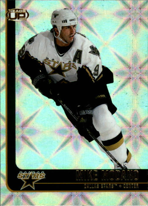 2001-02 Pacific Heads Up #31 Mike Modano