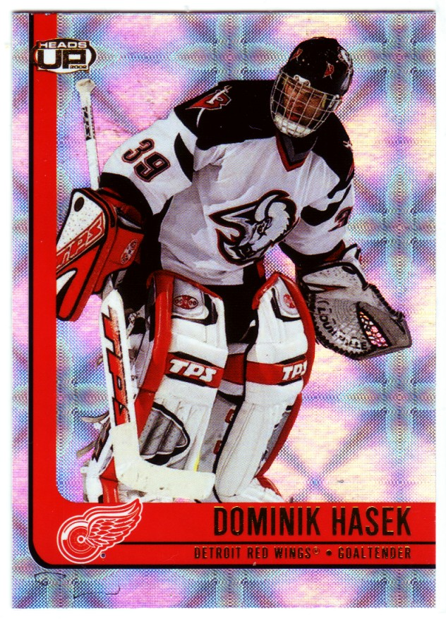 2001-02 Pacific Heads Up #35 Dominik Hasek