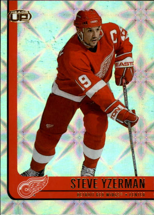 2001-02 Pacific Heads Up #39 Steve Yzerman