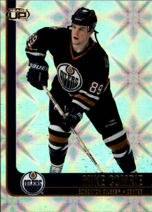 2001-02 Pacific Heads Up #40 Mike Comrie
