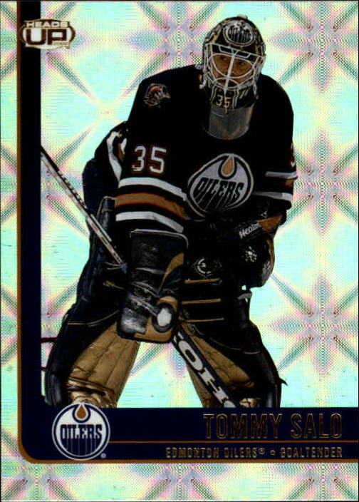 2001-02 Pacific Heads Up #41 Tommy Salo