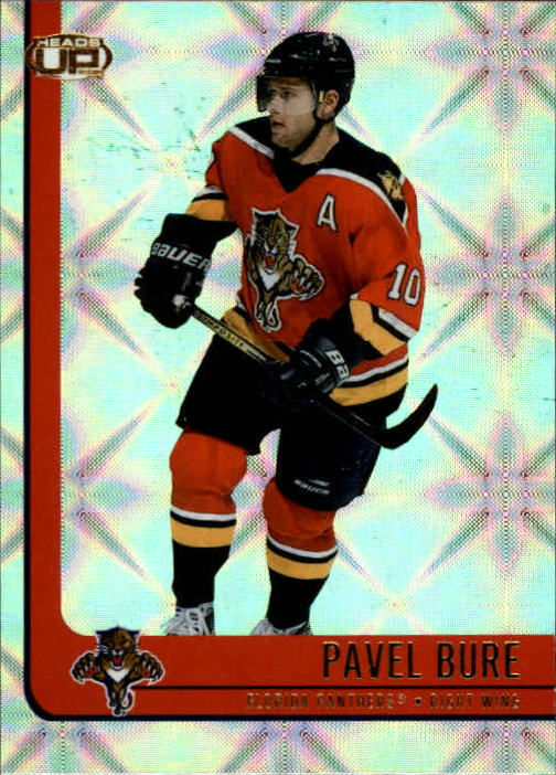 2001-02 Pacific Heads Up #43 Pavel Bure