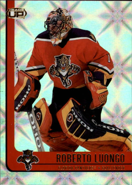2001-02 Pacific Heads Up #44 Roberto Luongo