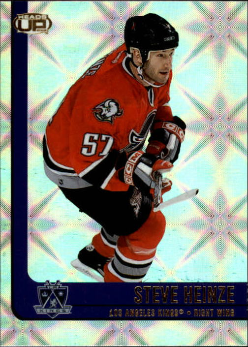 2001-02 Pacific Heads Up #45 Steve Heinze