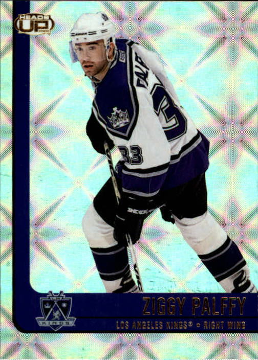 2001-02 Pacific Heads Up #46 Zigmund Palffy