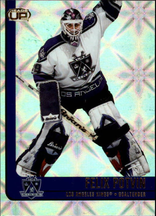 2001-02 Pacific Heads Up #47 Felix Potvin