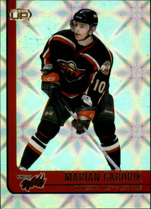 2001-02 Pacific Heads Up #49 Marian Gaborik