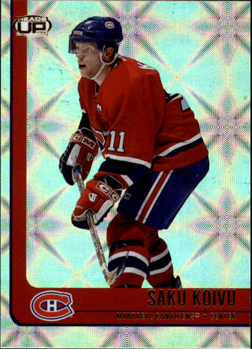 2001-02 Pacific Heads Up #50 Saku Koivu