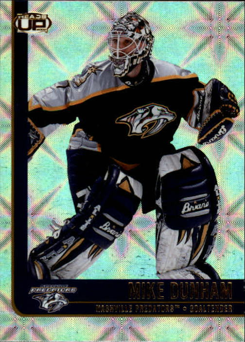 2001-02 Pacific Heads Up #53 Mike Dunham