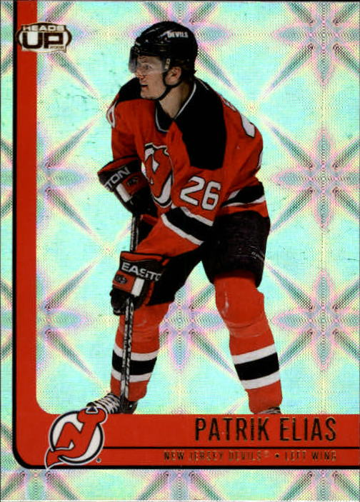2001-02 Pacific Heads Up #57 Patrik Elias
