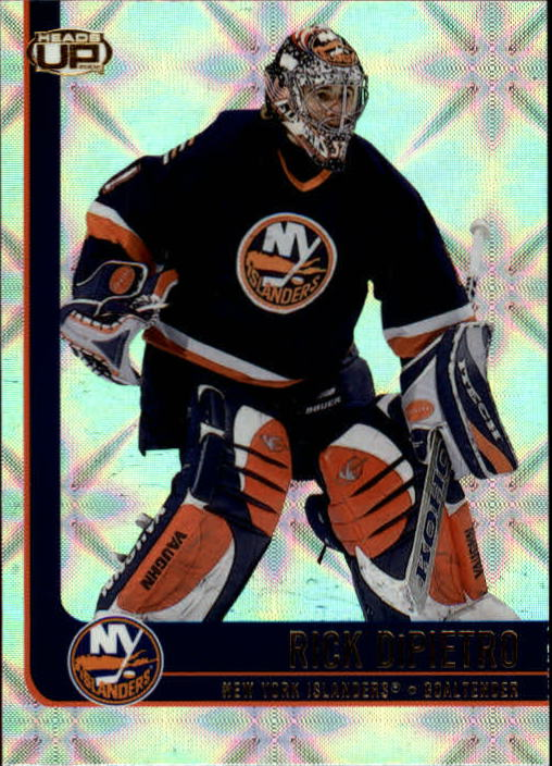 2001-02 Pacific Heads Up #60 Rick DiPietro