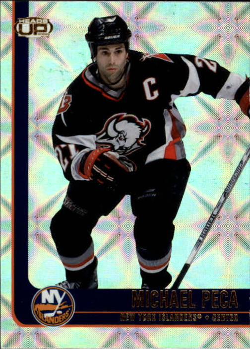 2001-02 Pacific Heads Up #61 Mike Peca