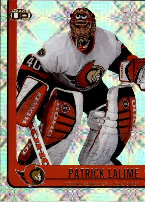 2001-02 Pacific Heads Up #70 Patrick Lalime