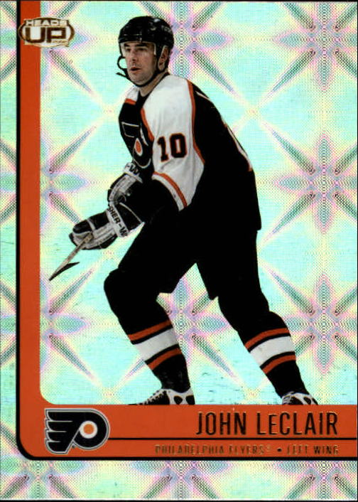 2001-02 Pacific Heads Up #72 John LeClair