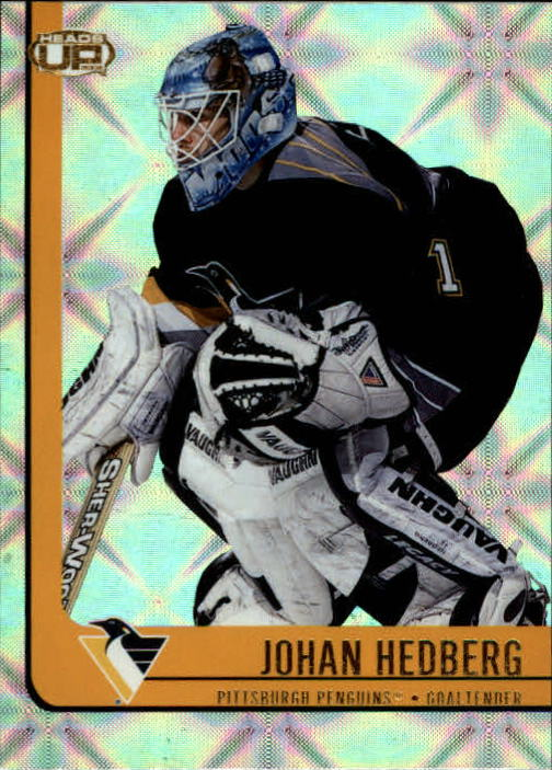 2001-02 Pacific Heads Up #76 Johan Hedberg