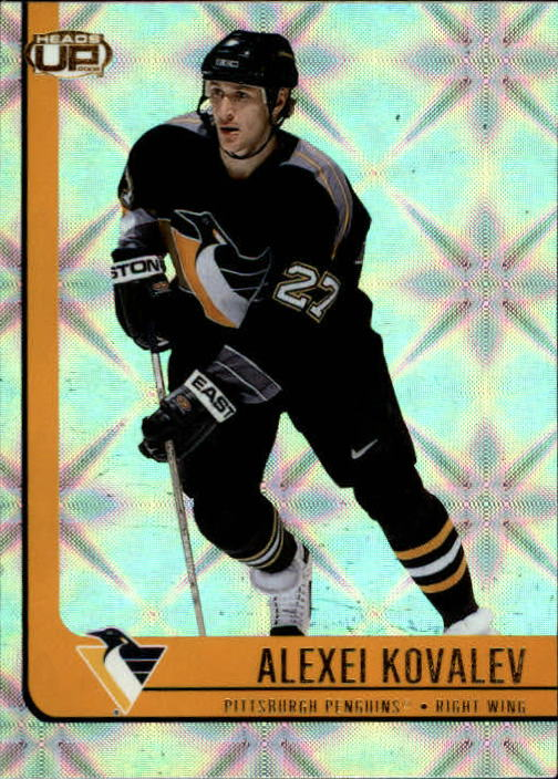 2001-02 Pacific Heads Up #77 Alexei Kovalev