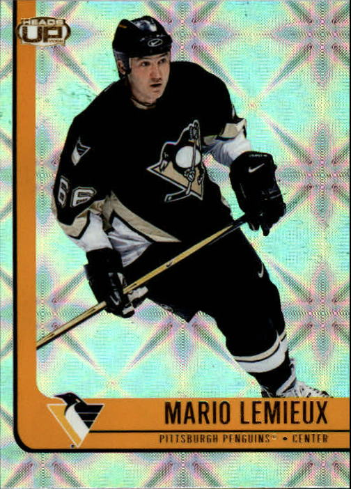 2001-02 Pacific Heads Up #78 Mario Lemieux